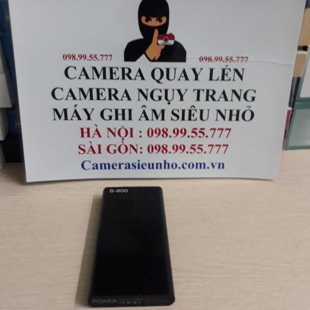 Camera Ngụy Trang Cục Sạc Dự Phòng S800