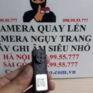 Camera Ngụy Trang Cúc Áo Wifi X9
