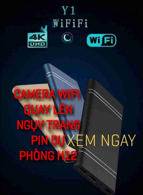 Camera Ngụy Trang Sạc Dự Phòng H12 WIFI