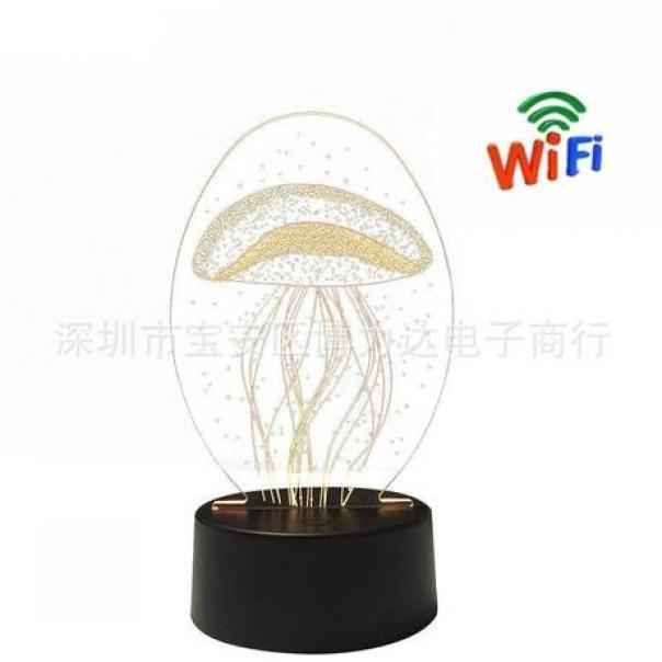 Camera WFI Ngụy Trang Đèn LED  3D