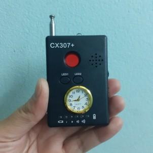 Máy phát hiện nghe lén quay lén CX307+ cực nhậy