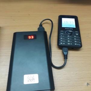 Camera ngụy trang sạc PIN dự phòng L8 không dây kết nối wifi xem từ xa
