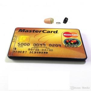 Tai Nghe Siêu Nhỏ Không Dây Ngụy Trang Thẻ ATM Khó Phát Hiện