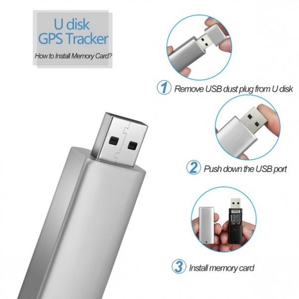 Thiết bị định vị nghe lén ghi âm ngụy trang USB công nghệ mới